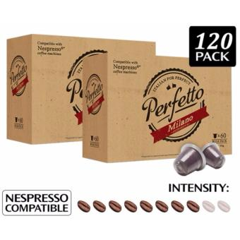 Harga Nespresso Compatible Coffee Pods for Nespresso Coffee Machine- 60PODS - MILANO