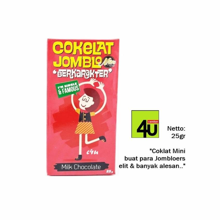 NIBS Coklat Jomblo dan Mantan Paket isi 5 pcs .