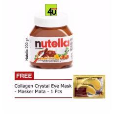 Nutella Spread 200 gr - Free Collagen Eye Mask