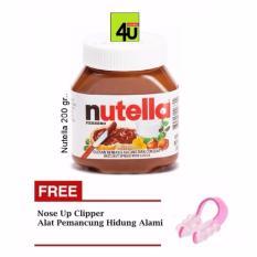 Nutella Spread 200 gr - Free Nose Up Clipper