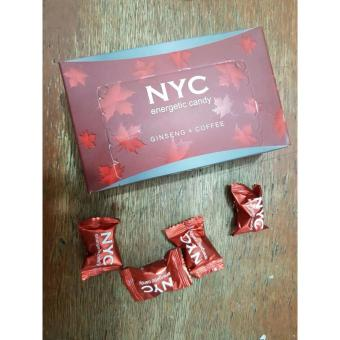 NYC Energetic Candy Ginseng & Coffee - Harga per pcs