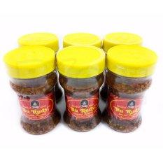 Paket 6 pcs Sambal Bawang Bu Rudy Oleh-Oleh Khas Bu Rudi Surabaya