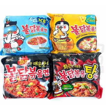 Paket Samyang 4 Rasa Stew Cool Cheese Spicy Isi 4
