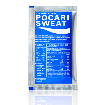 Pocari Sweat Sachet 15 gr Isi 5 Lembar 10 Box