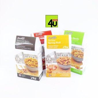 Sarikaya - Premium Spring Roll Snack - Paket 4 kotak