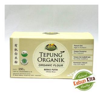 Tepung Beras Putih Organik 250gr ( Organic Flour )