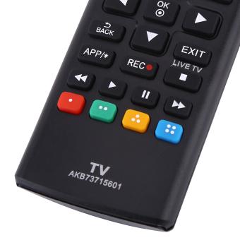 Harga 1 buah hitam Remote kontrol AKB73715601 pengganti kontroler untuk LG Smart TV - International Murah