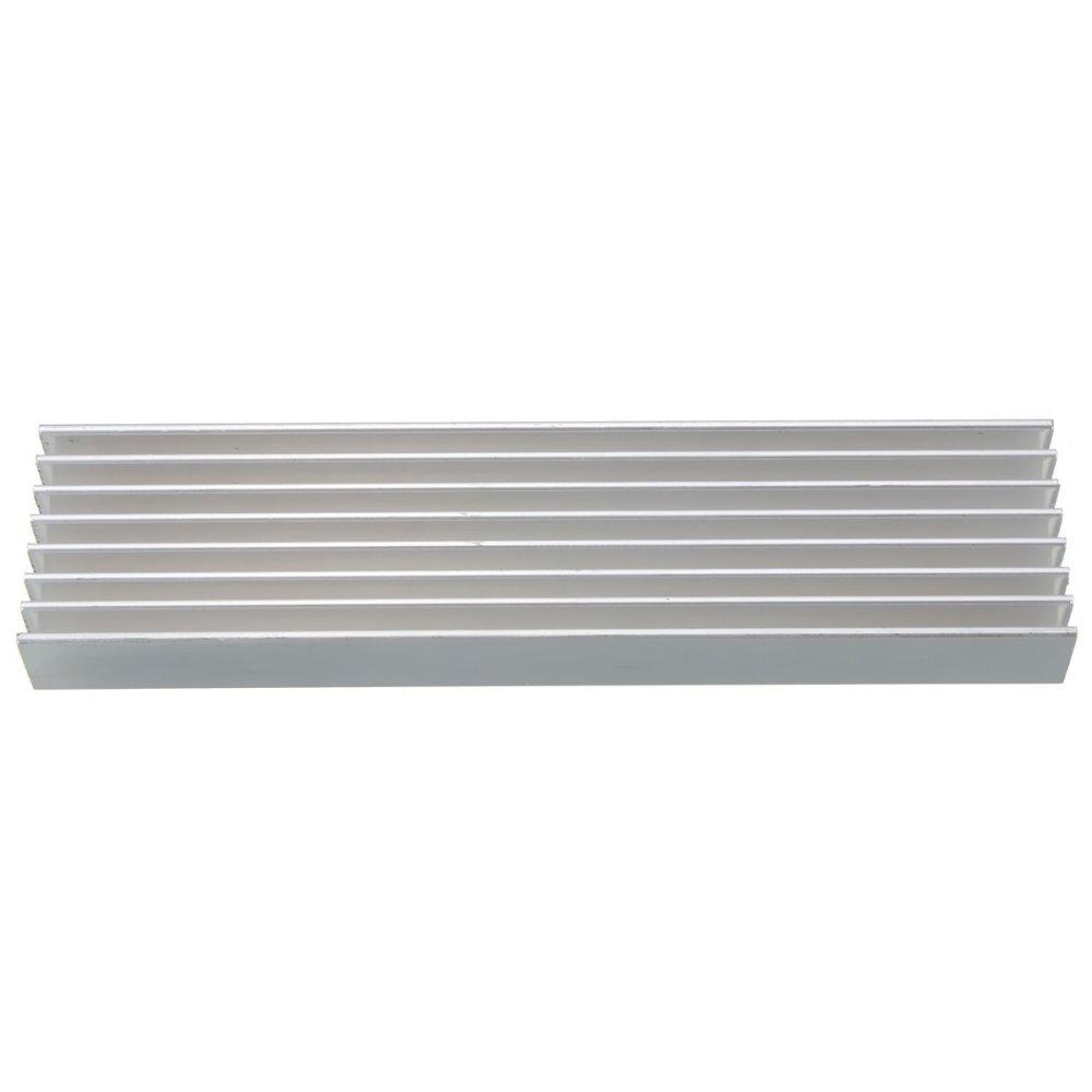 Harga Baru 100 X 25 10 Mm Aluminium Wastafel Panas Dingin Untuk Heatsink 10mm Radiator Cooling Pendingin Heat Sink Memimpintenaga Sirkuit Ic Radio Transistornya