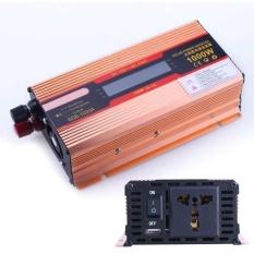 1000W DC 12V to AC 220V Modified Pure Sine Wave Power InverterHousehold LED - intl
