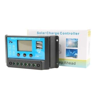 10A 12V/24V Solar Panel Charge Controller Battery Regulator DualUSB LCD Display - intl - 5
