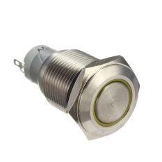 Rp 65.000 12 V 16 MM Mobil Otomatis Angel Eye LED Logam Sejenak .