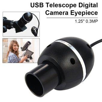 1.25 0.3mp smart webcam usb telescope digital camera eyepieceuniversal dc625
