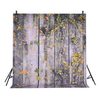 1.5 * 2m Photography Background Backdrop Digital Printing WoodFallen Leaf Pattern for Photo Studio Outdoorfree -