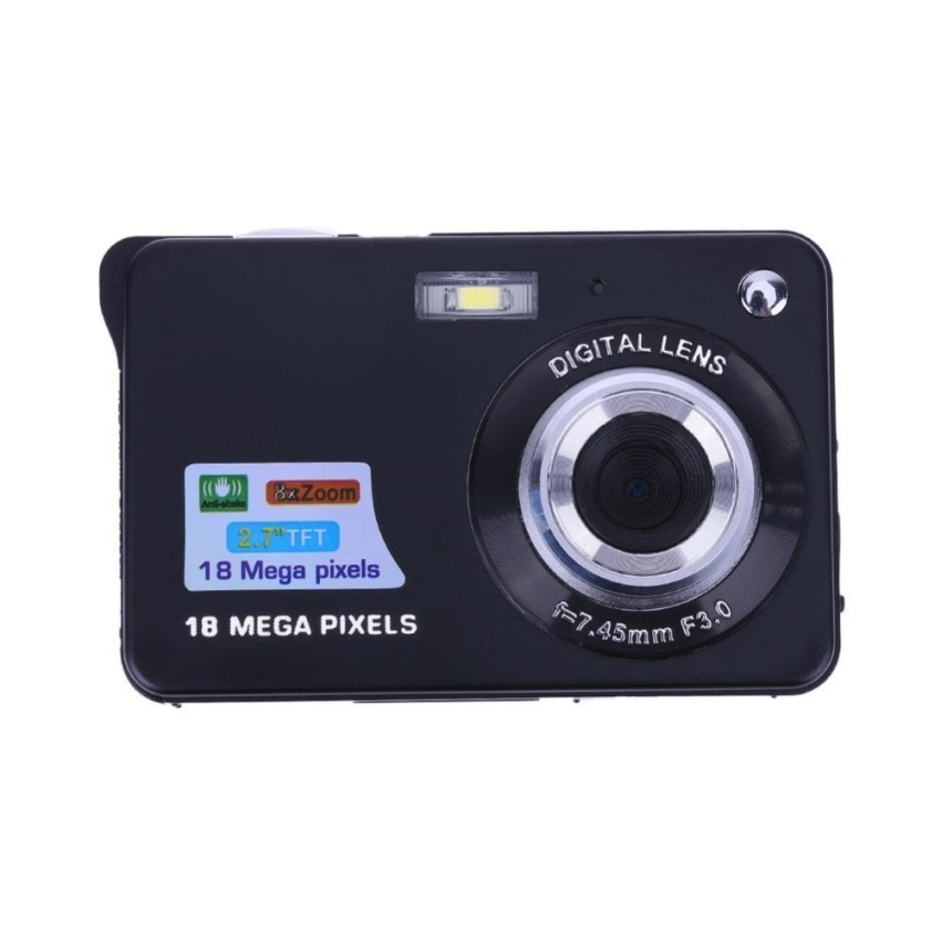 18MP 2.7�\x9D TFT LCD Digital Camcorder Camera DV 8X Digital Zoom HD1280x720 - intl