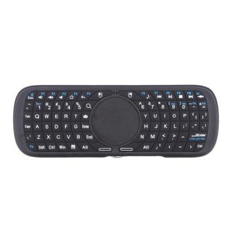2, iPazzPort 4G mini keyboard nirkabel untuk PC Android Smart TV Box cahaya LED