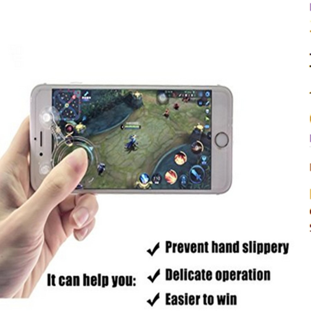 ... Android Ios Cell Phone Gamepad Source · 2017 New Hot Smart Phone Mobile Game Mini Joystick Mobile Dual Analog Joysticks Game Rocker Touch