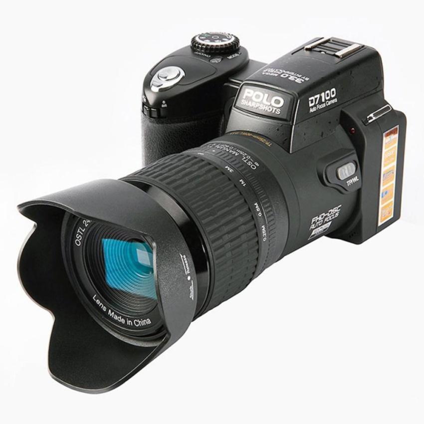 2017New PROTAX POLO D7100 digital camera 33MP FULL HD DSLR Camera 24X optical 8x Digital zoom Auto Focus Professional Camcorder 3Lens - intl
