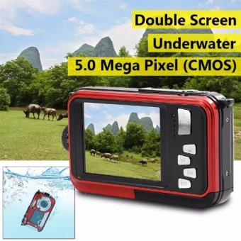 24MP Double Screen Underwater Digital Video Camera HD 1080P 3m Waterproof LF747