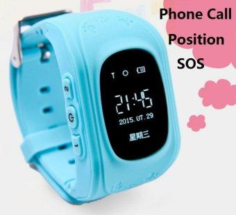 2Cool anak-anak pintar jaga GPS pelacak anti kehilangan posisi GPSanak SOS panggilan telepon smartwatch