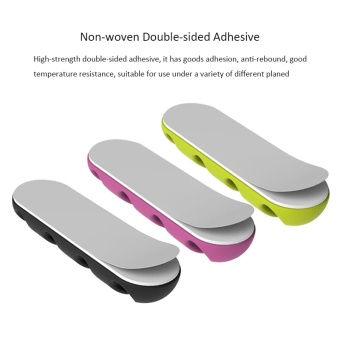 ... 2pcs Cable Winder Wire Organizer Desktop Clips Cord ManagementHeadphone Cord Holder For iPhone Charging Data Line