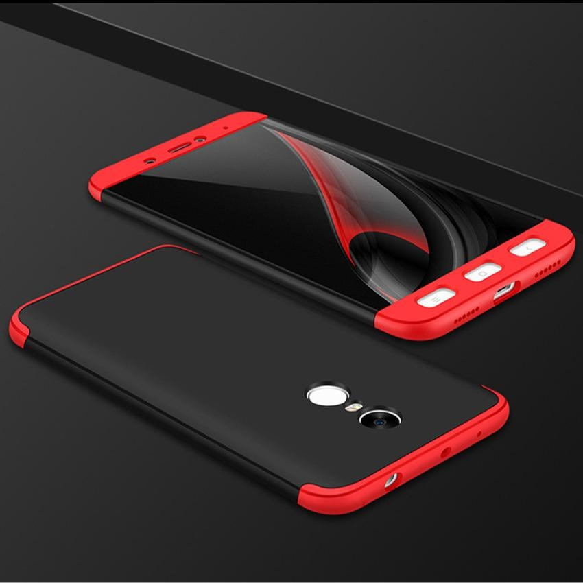 3 In 1 Combo Frosted Armor Hard PC Back Cover 360 Degree Full BodyProtective Phone Cases