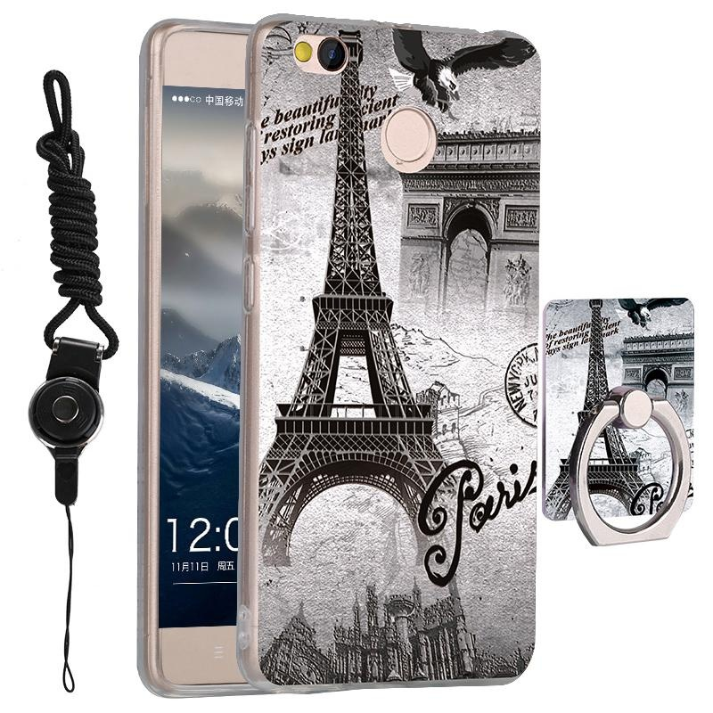 Flash Sale 3 in 1 Cute Phone Case 3D Pattern Back Cover for Xiaomi Redmi 4xwith