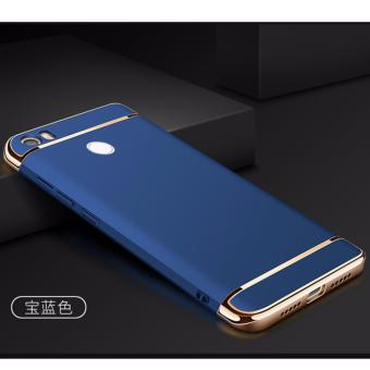 3 in 1 PC Protective Back Cover Case For Xiaomi Mi Max (Blue) - intl