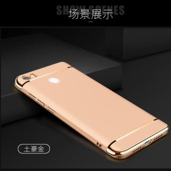 3 in 1 PC Protective Back Cover Case For Xiaomi Mi Max (Gold) -intl