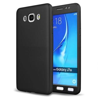 360 Degree Full Body Hard PC Protective Back Case With Tempered Glass For Samsung Galaxy J5