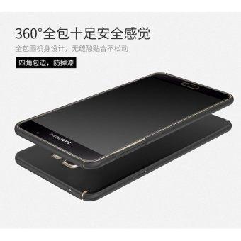 Harga 360 degrees Ultra thin PC Hard shell phone case for Samsung Galaxy A3 2016 Black intl Terbaru klik gambar.