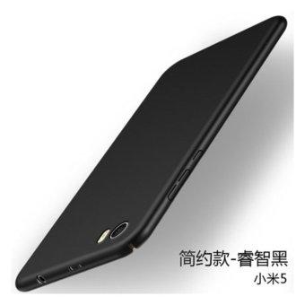 360 degrees Ultra-thin PC Hard shell phone case for Xiaomi Mi 5/Black