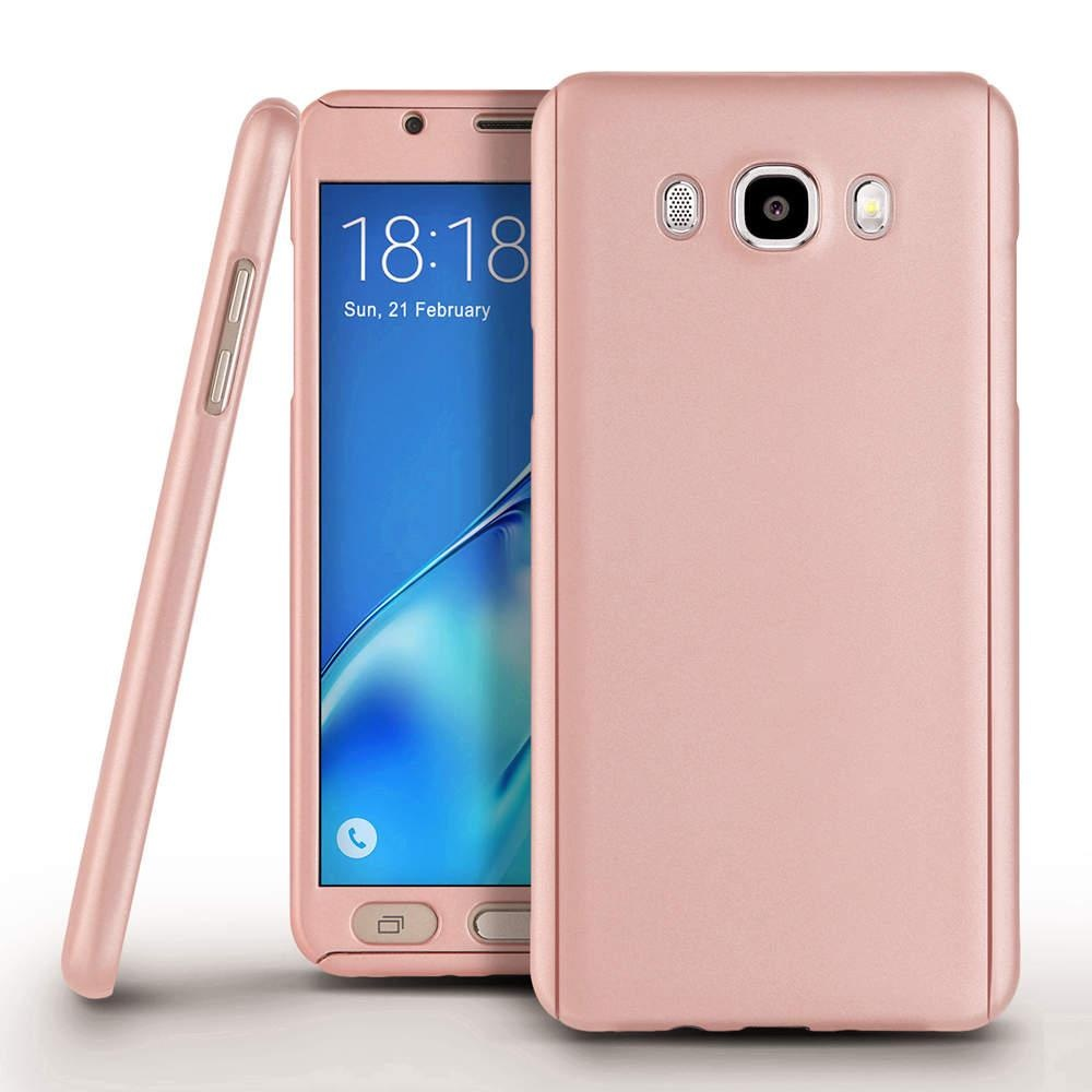 ... 360 Full Body Protection Hard Slim Case Coated Non Slip MatteSurface with Tempered Glass Screen Protector ...