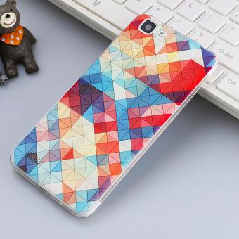 3D Relif TPU Soft Case for VIVO Y35 (Multicolor) - intl