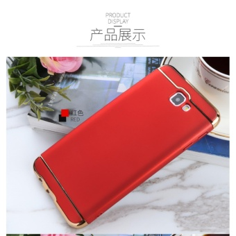 3in1 Ultra-thin Electroplated PC Back Cover Case for Samsung GalaxyJ5 Prime / Galaxy On5 (2016) - intl
