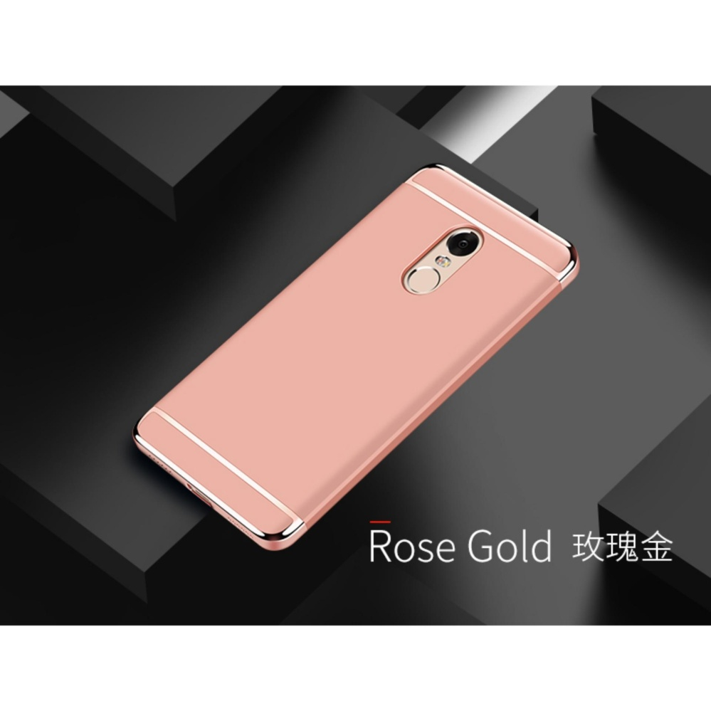 3in1 Ultra-thin Electroplated PC Back Cover Case for Xiaomi Redmi Note 4X 3gb RAM ...