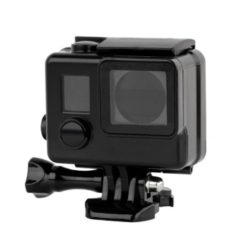 45m Snorkeling Diving Black GoPro Waterproof Housing CaseProtective Case for Gopro Hero 4 3+ 3 Camera GoPro Hero 4Accessories - intl