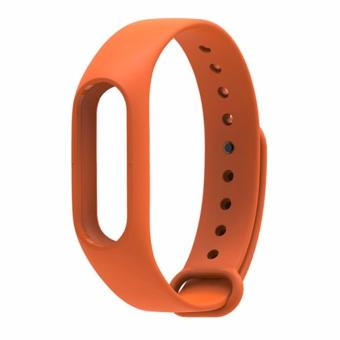 4Connect Rubber Wristband Replacement for Xiaomi Miband 2-Orange