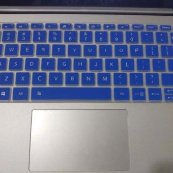 4Connect Silicon Keyboard Protector for XiaoMi Airbook 12.5 InchLaptop - Blue