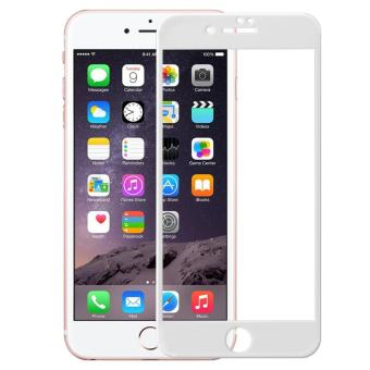 4D Full Curved Tempered Glass Warna Full Screen Cover Protector for Apple iPhone 7 Plus /