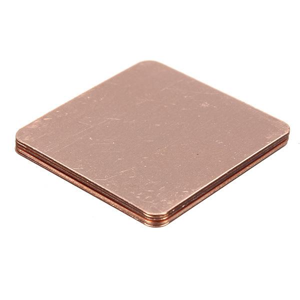... 5 Buah Copper Shim Tembaga Wastafel Panas Heatsink Laptop Gawat CPU 20 mm X 20 mm ...
