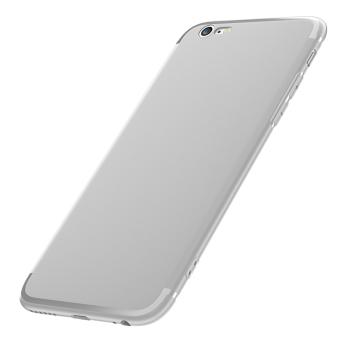 Gambar 6 plus iphone6 silikon transparan set matte shell shell telepon
