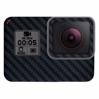 9Skin - Premium Skin Protector untuk Case GoPro Hero 5 - CarbonTexture - Hitam