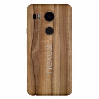 9Skin - Premium Skin Protector untuk Case LG Nexus 5x - Classic Wood Texture - cokelat