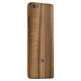 9Skin - Premium Skin Protector untuk Case Xiaomi Mi 5 - Classic Wood Texture - Cokelat