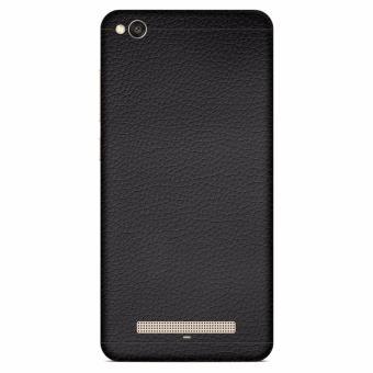9Skin - Premium Skin Protector untuk Case Xiaomi Redmi 4a - LeatherTexture - Hitam