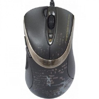A4Tech Mouse Gaming Macro X7 F4 - Hitam