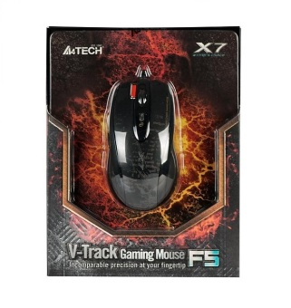 A4Tech Mouse Gaming Macro X7 F5 - Hitam - 2