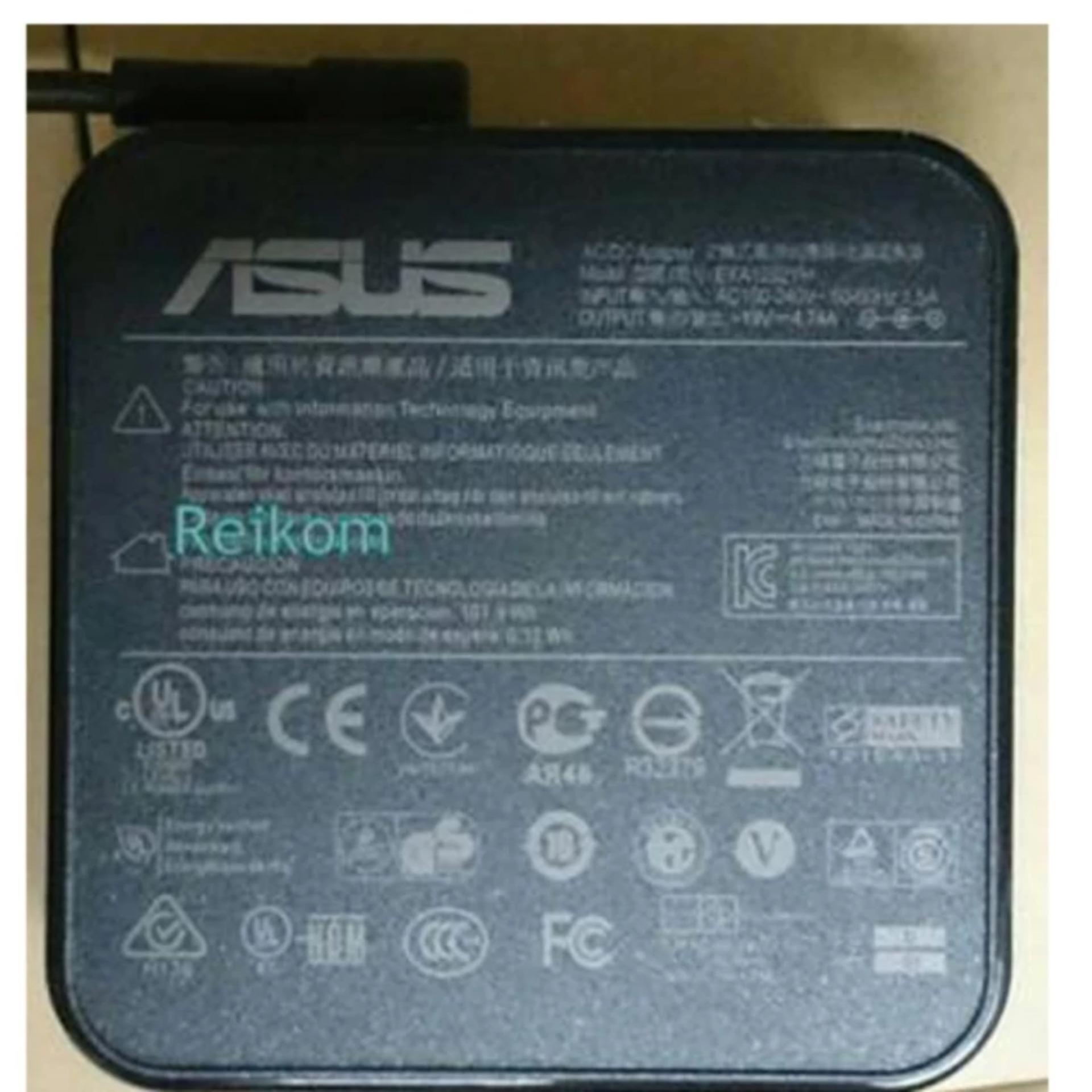 Adaptor Charger Laptop ORIGINAL Asus ROG 19v 4.74a N43 N43S N46 N46C N43SL SQUARE .