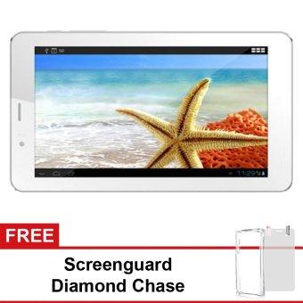 Spesifikasi Advan E1C 3G - 8GB - Putih+ Gratis Screenguard + Diamond Case                 harga murah RP 759.000. Beli dan dapatkan diskonnya.