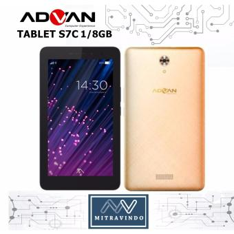 Advan S7c - Ram 1gb/8gb - Dual Sim - Gold